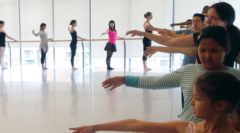Image of Culture days ballet class