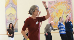 Dancing with Parkinson's class at NBS