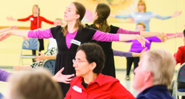 A Dancing with Parkinson's class at NBS