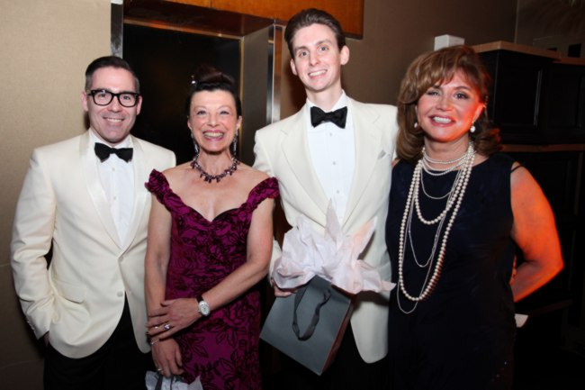 With NBS' Director of Strategic Initiatives, John Dalrymple (far left), Carol Weinbaum (center left) Charles Berry (center right) and 2014 Gala Committee Member, Judy Lawrie (far right)