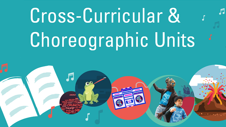 cross curricular and choreographic units