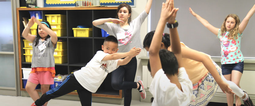 Sharing Dance in the Classroom
