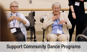Support Community Dance Programs
