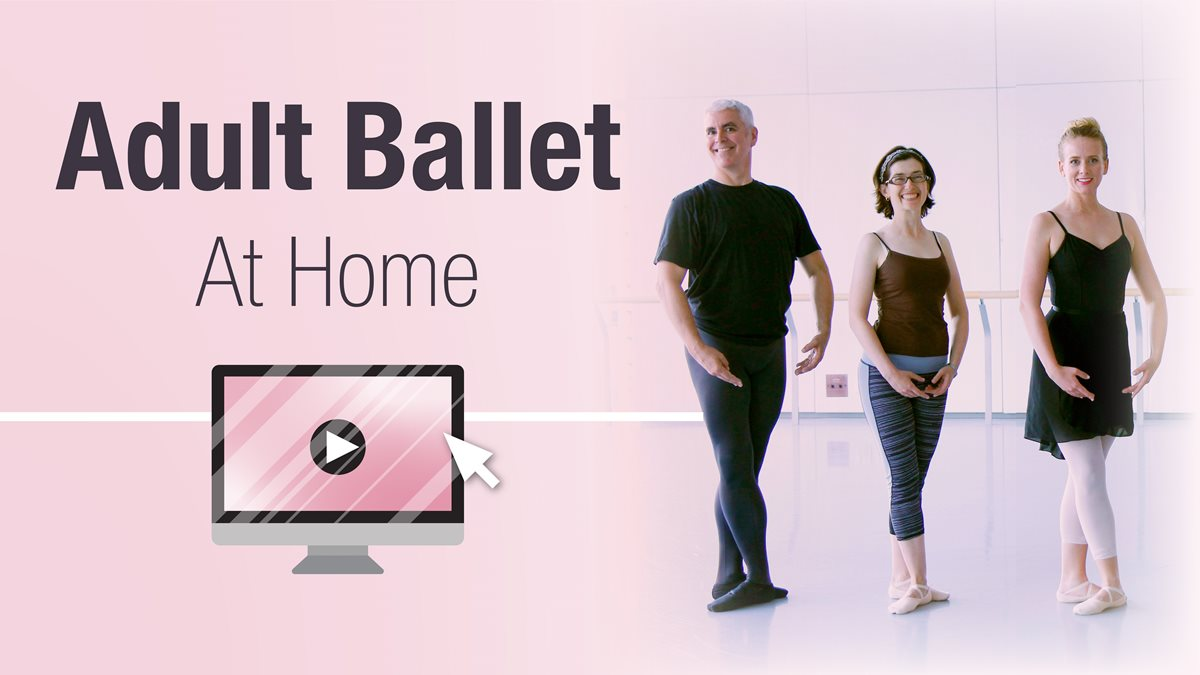 adult ballet at home