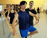 Dance class with Ballet Bob