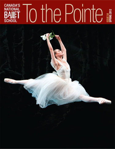 To the Pointe, Spring 2012