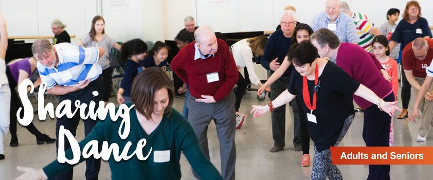 Sharing Dance for Active Seniors